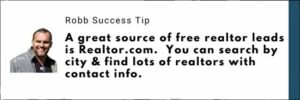 how to find realtor leads for your mlm business