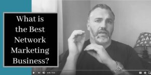 Robb Corbett training in his home office about what is the best network marketing business